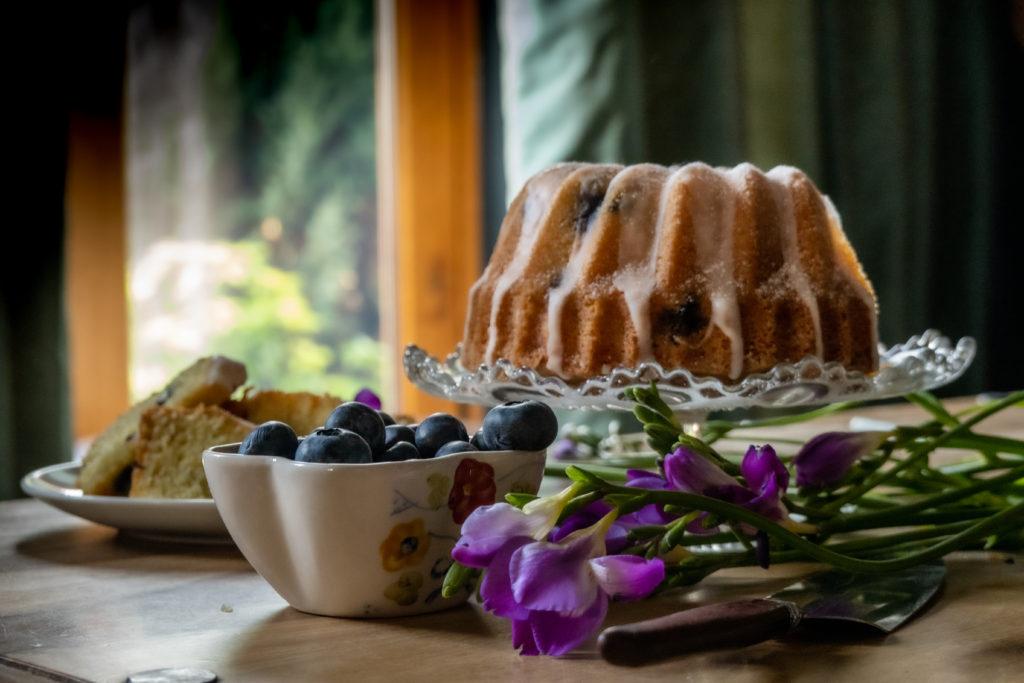 limoncello cake collage