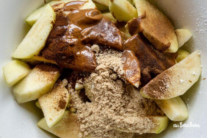 apples with Biscoff added
