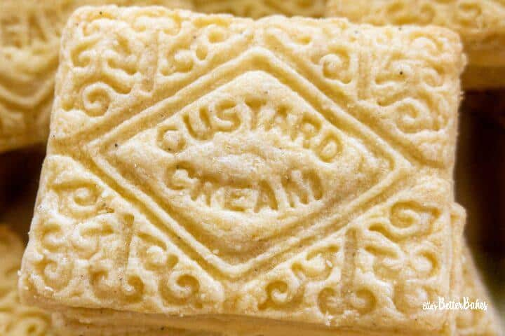 close up of a biscuit