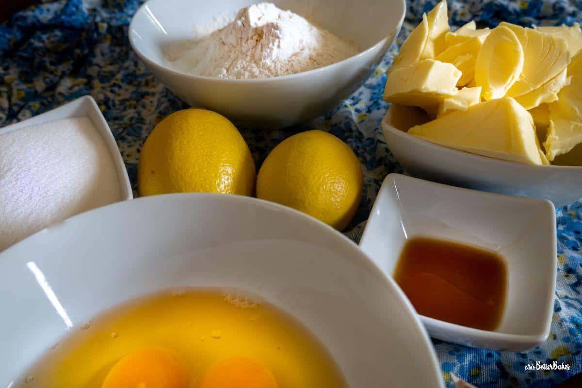 ngredients for victoria sponge cake