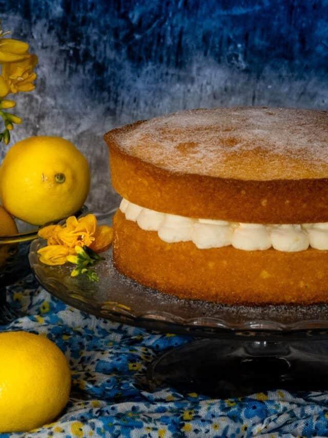 Lemon Victoria Sponge