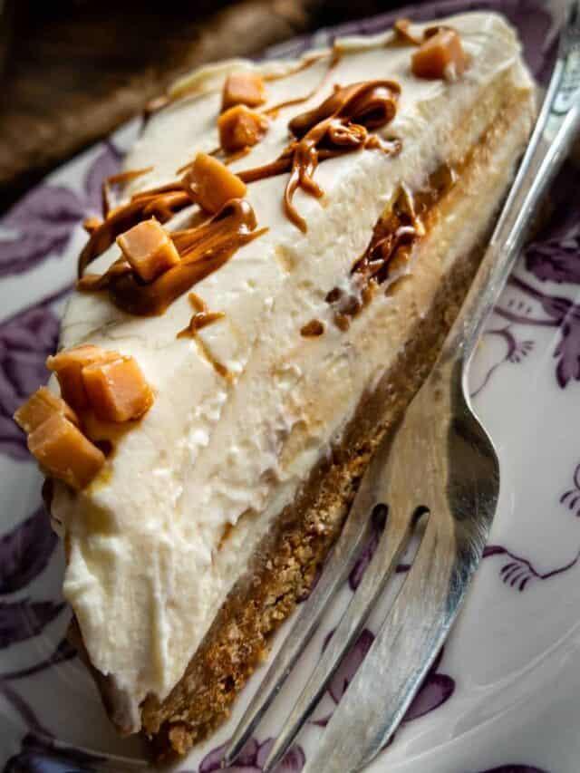 Salted Caramel Cheesecake (no bake)